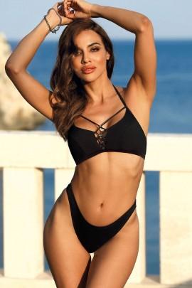 Sutien costum de baie Marbella black